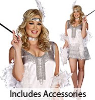 Flap Happy Plus - Adult Costume Fancy Dress