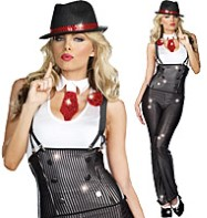 Big Guns Betty - Adult Costume Fancy Dress