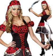 Pirate's Passion - Adult Costume Fancy Dress