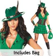 Robin Hood Fancy Dress Women
