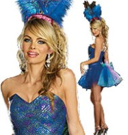 Peacock Envy - Adult Costume Fancy Dress