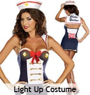 Hello Sailor - Adult Costume Fancy Dress