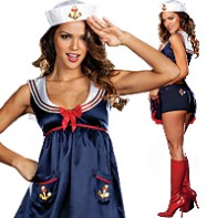 Sailor Mine - Adult Costume Fancy Dress