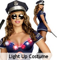 The Heat is On - Adult Costume Fancy Dress