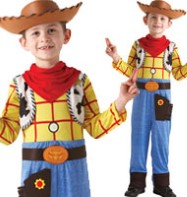 Woody Deluxe - Child Costume Fancy Dress