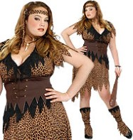 Cave Beauty Plus - Adult Costume Fancy Dress
