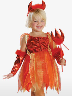 Lil' Devil -Toddler Costume Fancy Dress