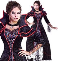 Lady Von Blood - Adult Costume Fancy Dress