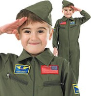 Air Cadet - Child Costume Fancy Dress