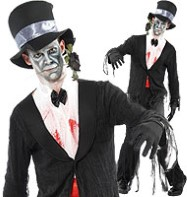 Dead Groom - Adult Costume Fancy Dress