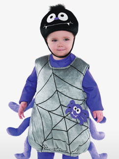 Itsy Bitsy Spider - Toddler Costume Fancy Dress