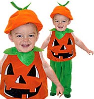 Pumpkin - Toddler Costume Fancy Dress
