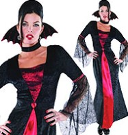 Countess Vampiretta - Adult Costume Fancy Dress