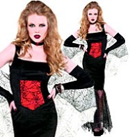 Black Widow Seductress - Adult Costume Fancy Dress