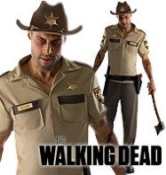 The Walking Dead Rick Grimes - Adult Costume Fancy Dress