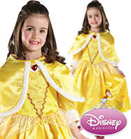 Belle Winter Wonderland - Child Costume Fancy Dress