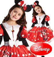Minnie Mouse Winter Wonderland - Child Costume Fancy Dress