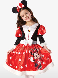 Minnie Mouse Winter Wonderland - Child Costume