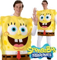 SpongeBob Deluxe - Adult Costume Fancy Dress