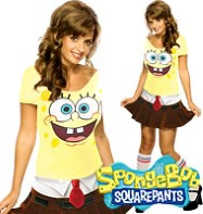 SpongeBob Babe - Adult Costume Fancy Dress