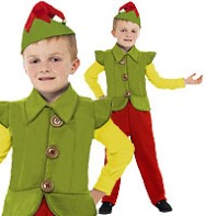 Elf Boy - Child Costume Fancy Dress