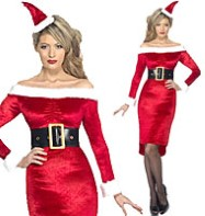 Santa Baby - Adult Costume Fancy Dress