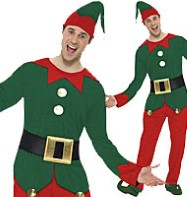 Elf - Adult Costume Fancy Dress