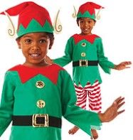 Elf - Child Costume Fancy Dress