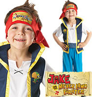 Jake the Pirate - Toddler Costume Fancy Dress