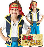Jake the Pirate - Child Costume Fancy Dress
