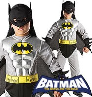 Batman Metallic Classic - Child Costume Fancy Dress