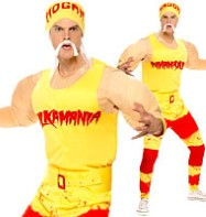 Hulk Hogan - Adult Costume Fancy Dress