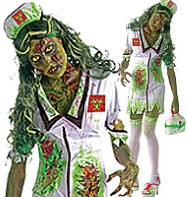 Biohazard Zombie - Adult Costume Fancy Dress