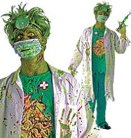 Biohazard Surgeon - Adult Costume Fancy Dress