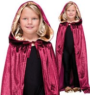 Hooded Velvet Cloak - Child Costume Fancy Dress