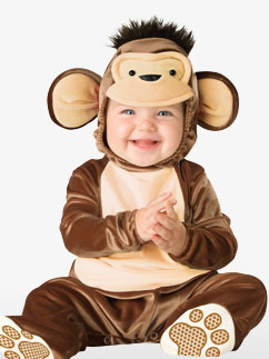 Mischievous Monkey - Baby costume  Fancy Dress