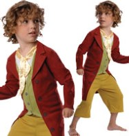 The Hobbit Bilbo Baggins - Child Costume Fancy Dress