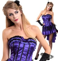Hurly Burly Burlesque - Adult Costume Fancy Dress