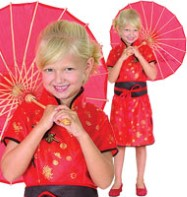 Oriental Dress - Child Costume