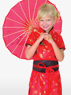 Oriental Dress - Child Costume Fancy Dress