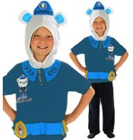 Captain Barnacles - Child Costume Fancy Dress