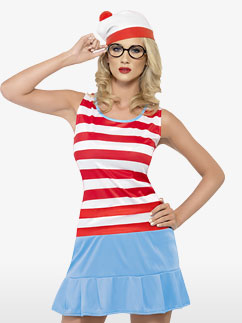 Wheres Wenda Cutie - Adult Costume Fancy Dress