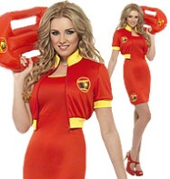Baywatch Beach Lifeguard - Adult Costume Fancy Dress