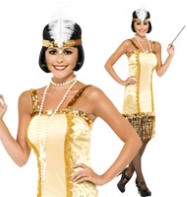 Charleston Flapper - Adult Costume Fancy Dress