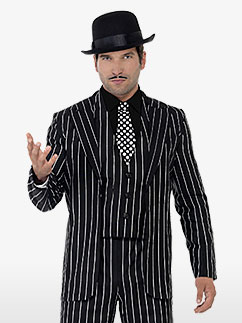 Vintage Gangster Boss - Adult Costume Fancy Dress