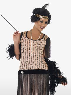 1920s Coco Flapper Dress - Adult Costume Fancy Dress