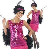 Funtime Flapper - Adult Costume Fancy Dress