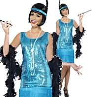 Flirty Flapper - Adult Costume Fancy Dress