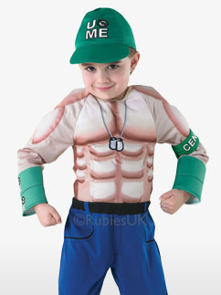 Deluxe John Cena - Child Costume Fancy Dress