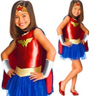 Wonderwoman - Child Costume Fancy Dress